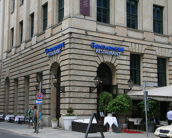 Bar- und Restauranttipp Berlin   Gendarmerie am Gendarmenmarkt (+English version)