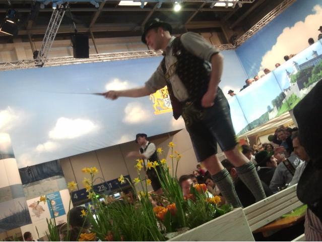 Grüne Woche Berlin: Ein Ausflug in die bayerische Halle mit einem Sternekoch